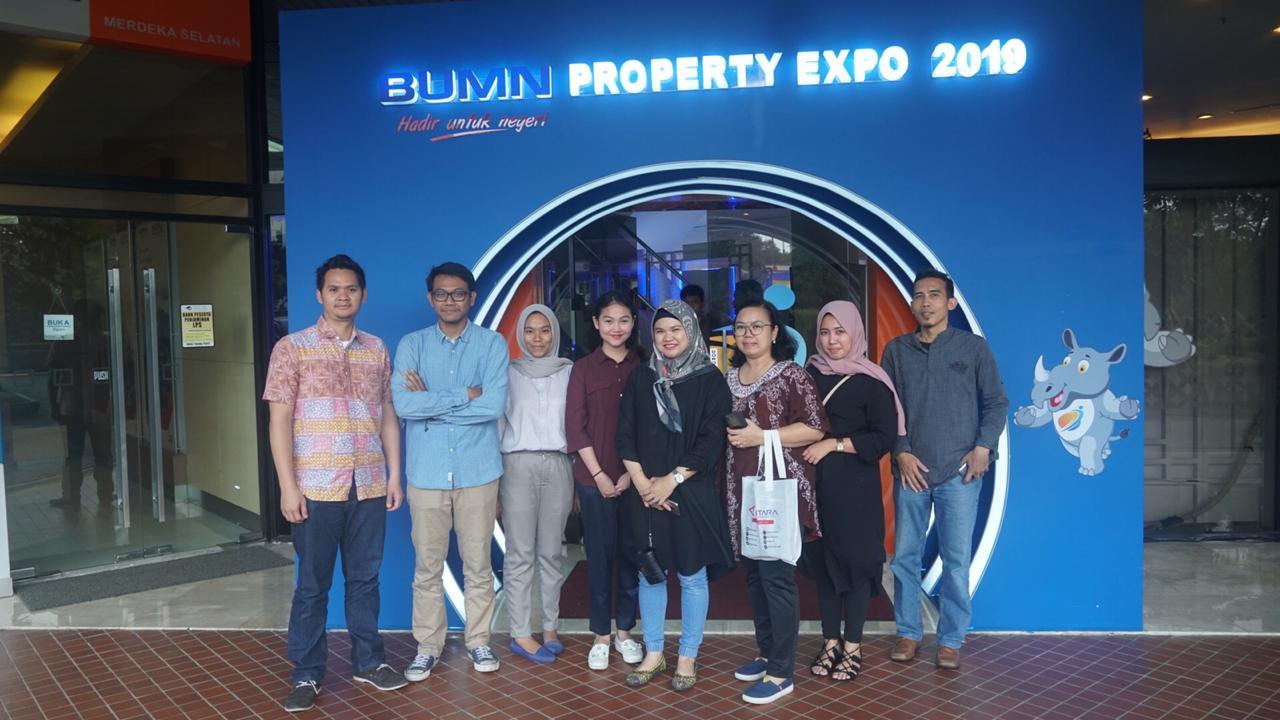 KANTOR BERITA ANTARA KUNJUNGI BUMN PROPERTY EXPO 2019