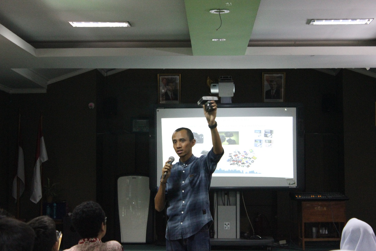 WORKSHOP PHONEOGRAPHY FOR SMARTPHONE DI SMAN 68 JAKARTA
