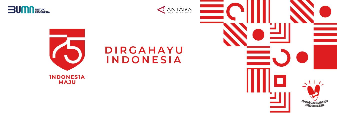 Dirgahayu ke-75 Republik Indonesia! #IndonesiaMaju #BanggaBuatanIndonesia